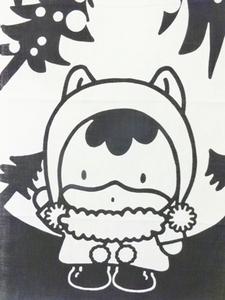 ぐんまちゃんモミの木下S.jpg
