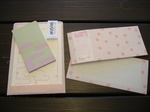 ぽち袋箋かすみ桜525円一筆箋さくら315円.JPG