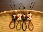 招き猫ストラップ1050円.JPG