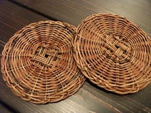 あけびの鍋敷き.JPG