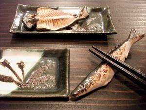 秋刀魚と鯵箸置き.JPG