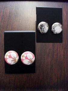 陶器ピアス桜.JPG